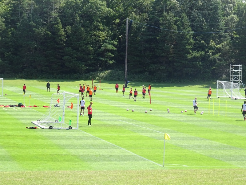 Liverpool Academy squad at Fota Island Resort
