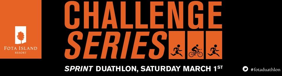 Challenge Series Duathalon at Fota island Resort - Saturday, 1st March